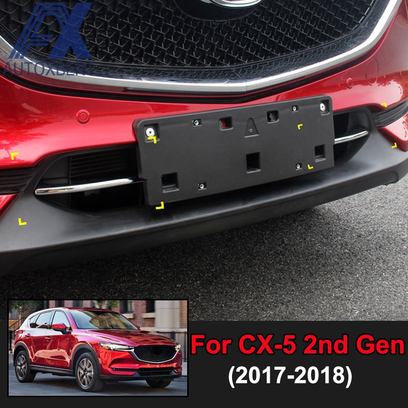 FOR MAZDA CX-5 2017 CAR FRONT GRILLE GRILL COVER TRIM MOLDING CAR STYLING