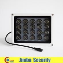 CCTV 20PCS IR LEDS Array IR illuminator infrared CCTV camera lamp light IP65 Metal material Waterproof Night Vision(China)