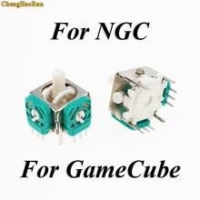 Chenghaoran 2pcs 교체 스틱 캡 gamecube ngc gc 컨트롤러에 대 한 닌텐도에 대 한 3d 아날로그 조이스틱