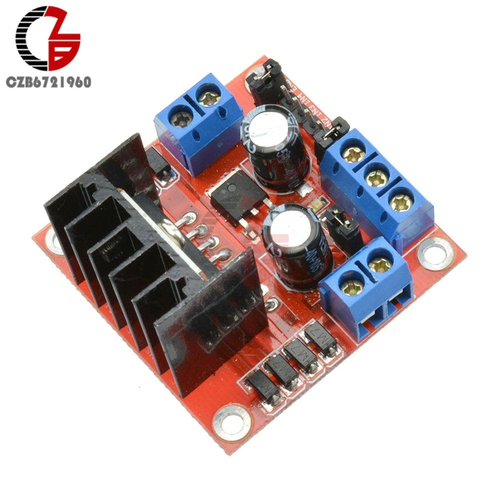 25 W Fahrer Motor Controller Board Modul L298N Dual H Brücke DC für Arduino Motor Smart Auto Roboter