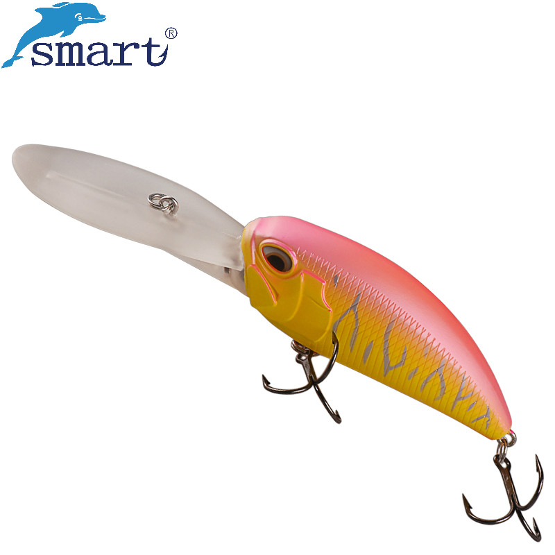 Smart Fishing Crankbaits Lure 8.5cm 37.2g Floating Lures Deep Diving Crank Bait Isca Artificial Leurre Peche Fishing Wobblers 10pcs 10cm plastic hard fishing lures saltwater fishing bass pike deep diver floating artificial fishing wobblers lure hooks