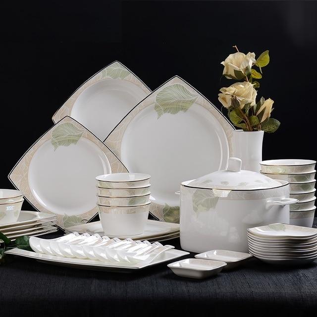 Keramik geschirr set Porzellan geschirr schüssel set kreative ...