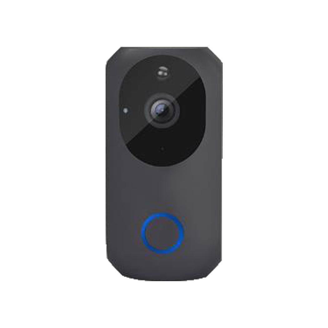 Wireless Video Doorbell Waterproof WiFi Door (Batteries not included) Bell Monitor Alarm Door Security 170mA (W)