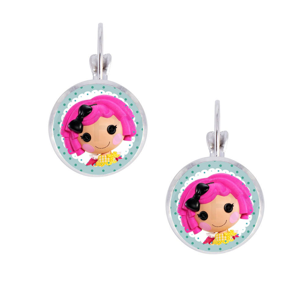 1pair Lalaloopsy Photo Glass Cabochon Clip Earrings, Little Girl Alloy Clip  Earrings, Handcrafted Party Favorin Clip Earrings From Jewelry &  Accessories On