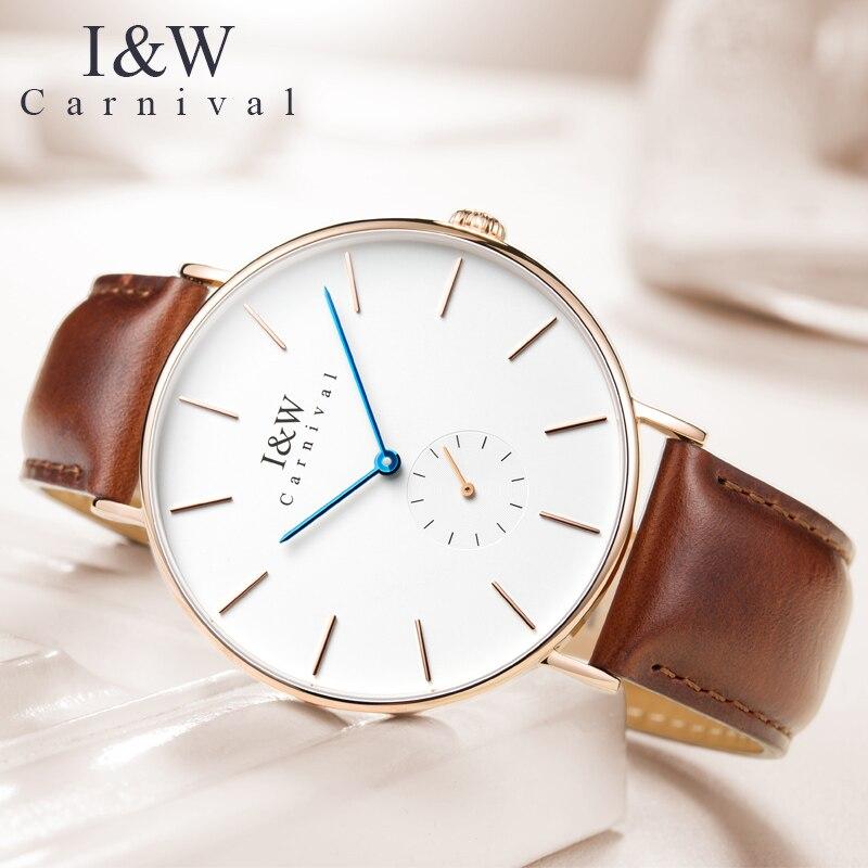 Luxury watch men Waterproof  Sapphire glass men Quartz watches ultrathin big dial relogio masculine 40MM