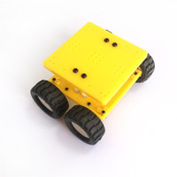 1suit J473 Model 7575 N20 Gear Motor Intelligent Model Car DIY Assemble Small Car Technology Making