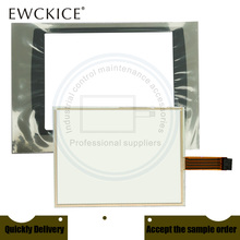 NEW PanelView Plus 1000 2711P-T10C15D2 2711P-T10C15D9 2711P-T10C HMI PLC Touch screen AND Front label panel Frontlabel