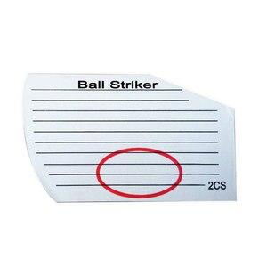 Качественная наклейка для игры в гольф (252)-стандартная ударная этикетка подходит для использования в помещении или на улице