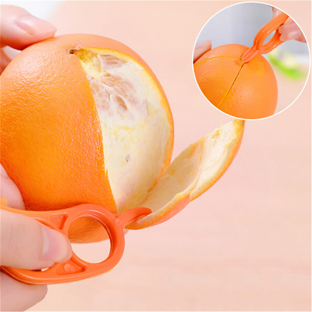 Быстро раскупаемый 1 шт. Творческий Оранжевый ножи для снятия шелухи и цедры терка для лимонов прибор для очистки плодов от кожуры или кожицы Легкий открывалка соковыжималка для цитрусовых Ножи кухонные инструменты, гаджеты разные цвета