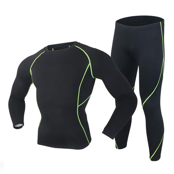 2017 New High Quality Brand Thermal Underwear Set Men Winter Thermo Underwear Soft Comfortable Stretch Keep Warm Long Johns