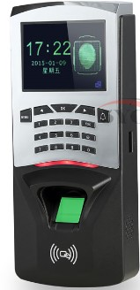 F807 Biometric Fingerprint Access Control Fingerprint Reader Password tcp/ip software door access control terminal with 12 month tcp ip biometric face recognition door access control system with fingerprint reader and back up battery door access controller