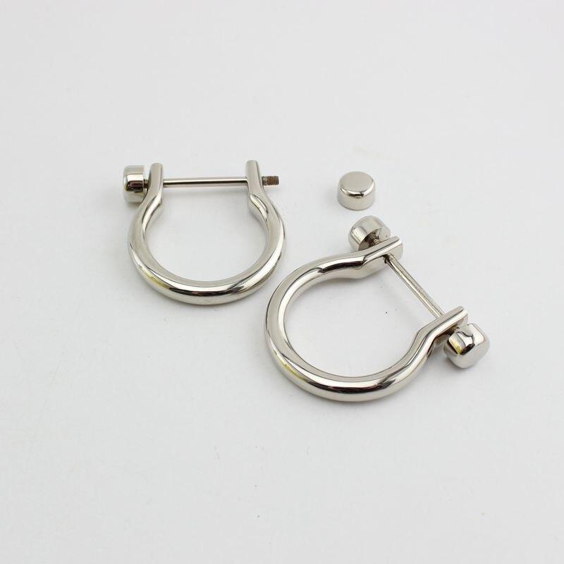 bronze antigo d-ring grilhão acabamento de zinco,