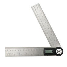 Best Buy 200mm Woodworking Angle Ruler Goniometer Angle Finder Gauge Meter Protractor Electronic Digital 360-Degree 2 in 1 Multifunction