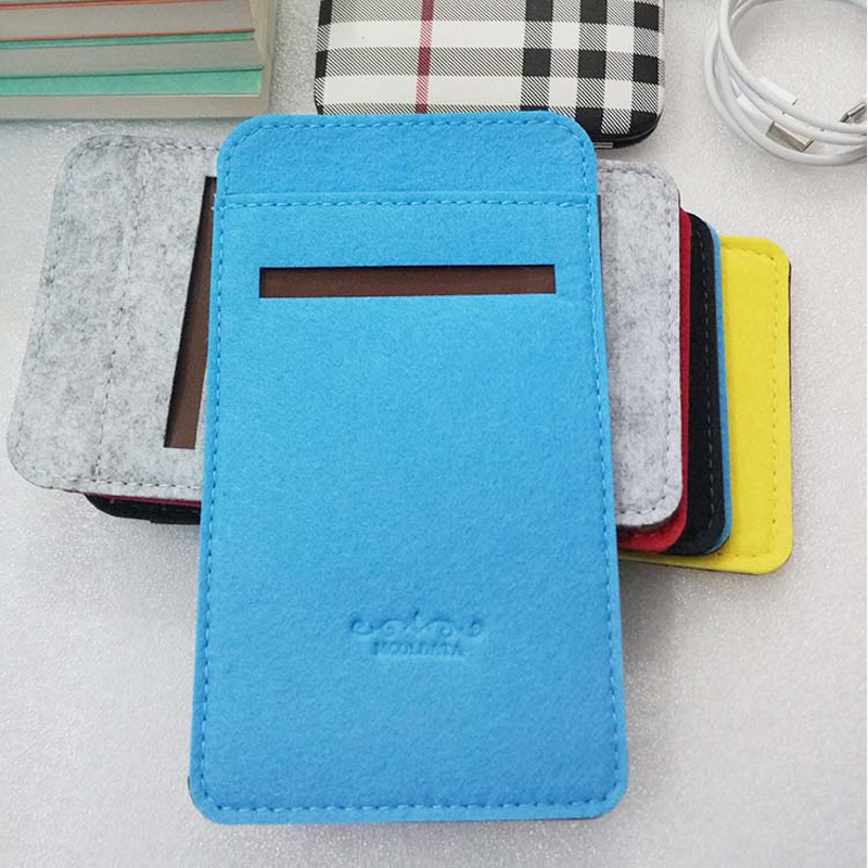 Xiaomi Mi Power Bank 2S 10000 MAh Pouch Portable External Battery Bag MI 2S 2 10000mah Powerbank Cover With Card Cable Pocket