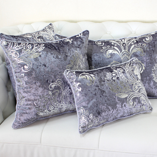 Delicieux Luxurious Bronzing Velvet Home Decor Pillow Cover With Tassle Cushion Cover  Velour Decoration Pillowcase Decorative Pillowsham