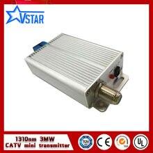 Китай поставщик 1310nm catv оптический передатчик 3 МВт