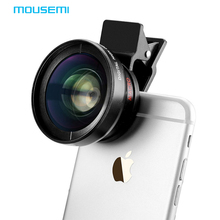 MOUSEMI Macro Mobile Lens 0.45X Super Wide Angle Lenses 37mm Digital High Definition for iphone 6 5s xiaomi redmi note 3 camera