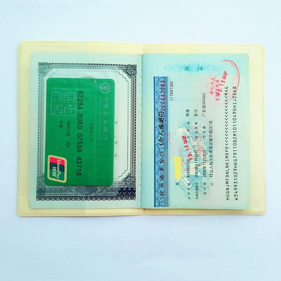 Cartoon spongebob passport cover id credit card holder yellow 3d cartoon spongebob passport cover id credit card holder yellow 3d design pvc leather business card bag passport holder 1496cm in card id holders from colourmoves