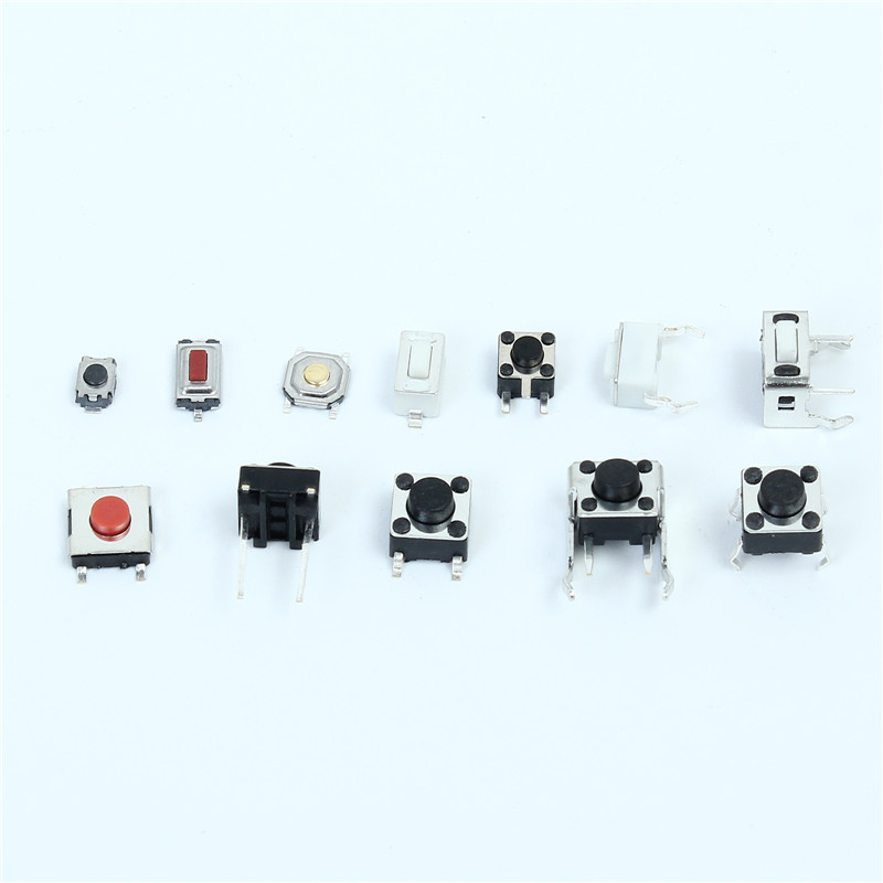 Total 120 pcs Tactile Tact Mini Push Button Switch Packet Micro Switch Bags 12 Types each