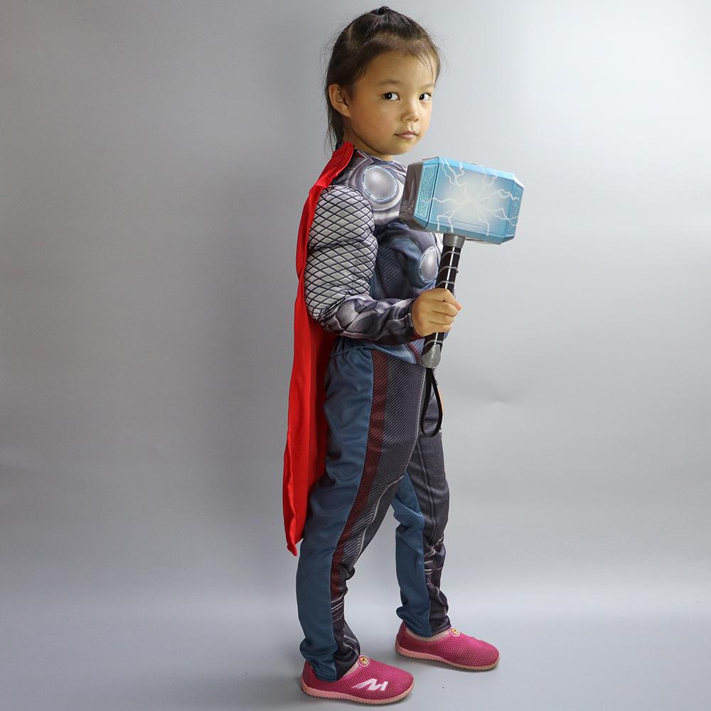 Avengers Cosplay Thor indirim 3