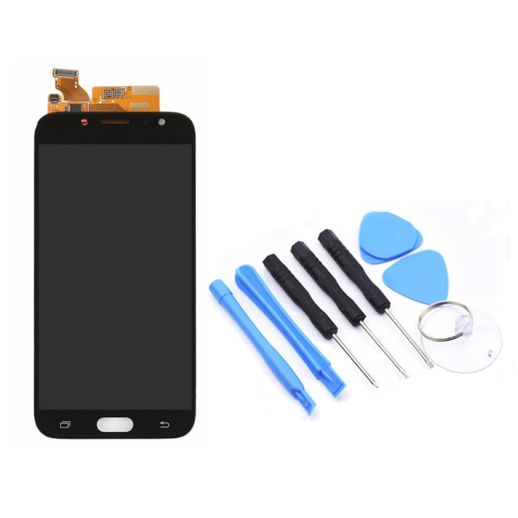 Image 2 - LCD Display LCD + Touch Screen +Tool Compatibile Assembly For Samsung J7PRO Touch Screen Digitizer-in Mobile Phone Flex Cables from Cellphones & Telecommunications