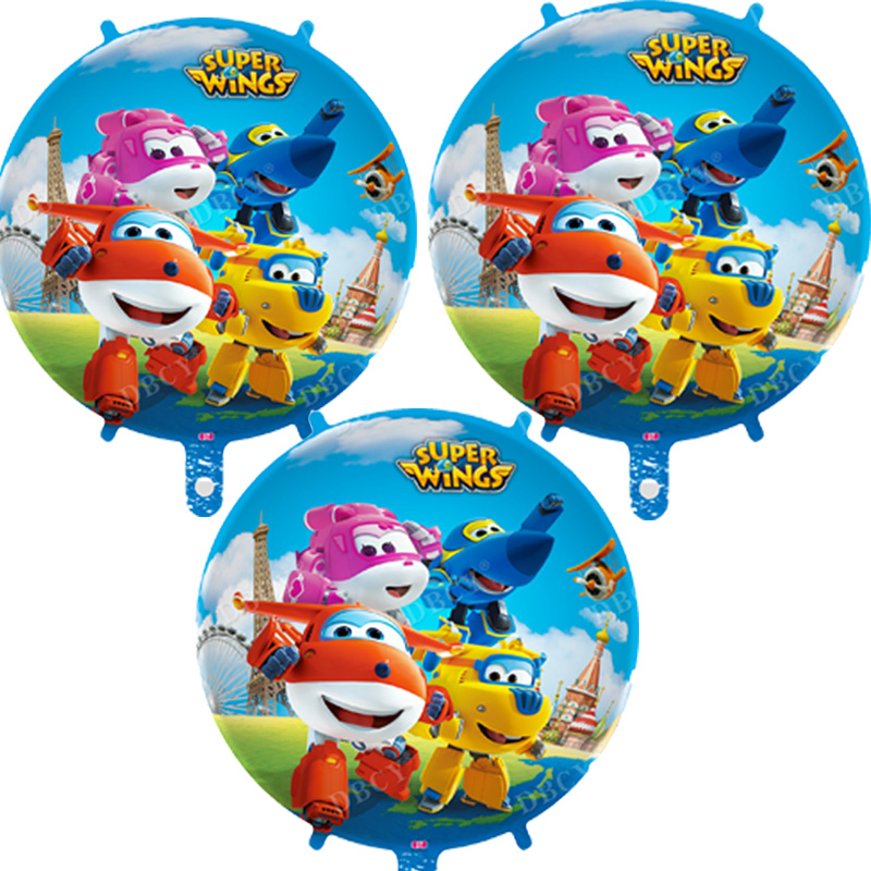 Authorize Super Wings Balloons Toys 18inch 50pcs