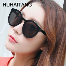 HUHAITANG Oversized Cat Eye Sunglasses Woman Sun Glasses For Women Sunglass Luxury Brand Designer Oversize Ladies Sunglases 2019
