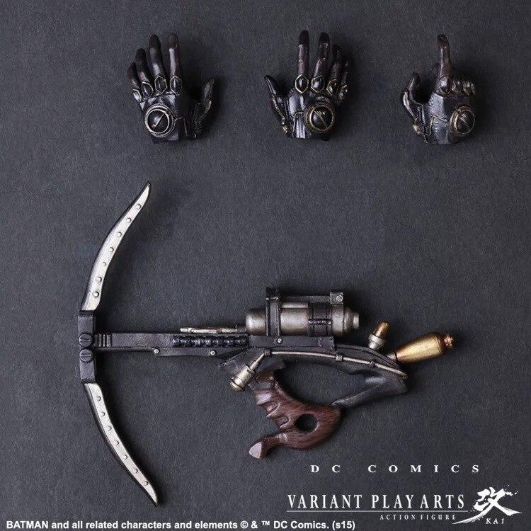 PLAY ARTS 25 cm intemporel vapeur PUNK Batman Gotham par Gaslight figurine modèle jouets-in Jeux d'action et figurines from Jeux et loisirs    3