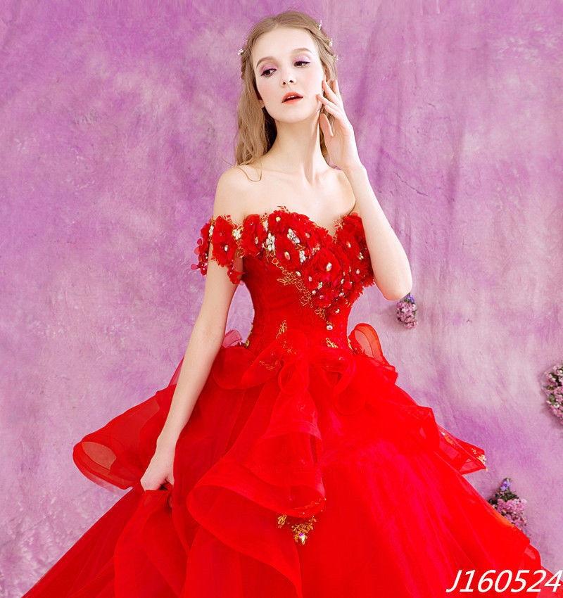 Excepcional Vestido Rojo Y Oro De La Boda Motivo - Ideas de Estilos ...