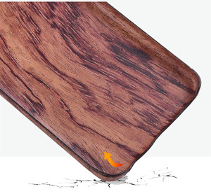 Image 5 - For Samsung Galaxy S10 /S10+/S10e S20/S20+/S20 Ultra walnut Enony Wood Rosewood vintage MAHOGANY Wooden Back Slim Case Cover