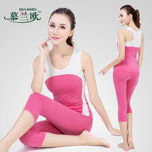 Fitness Workout Clothing And Women's Gym Sports Running Girls Slim Leggings+Tops Women Yoga Sets Bra+Pants Sport Suit For Female