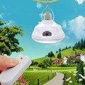 24 LED Пульт Дистанционного управления + AC/DC переключатель аварийного освещения солнечный свет E27 украшения сада солнечные лампы + 0.8 Вт панели солнечных батарей