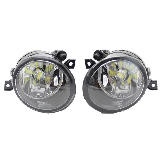 مصباح ليد لشركة فولكس فاجن UP e-UP 2011 2012 2013 2014 2015 2016 سيارة التصميم الأمامي LED الضباب مصباح إضاءة للضباب مع المصابيح والأسلاك