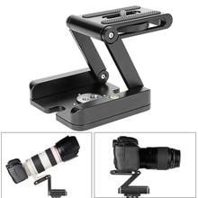 Photography Camera Studio Tripod Z Aluminum Pan & Tilt Flexible Head Max Load 3KG Ballhead for Photo Shooting DSLR Tripod Stand