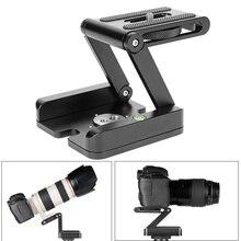Штатив для фотостудии Z, алюминиевая Поворотная гибкая головка, максимальная нагрузка 3 кг, шаровая Головка для фотосъемки, штатив для DSLR