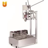 12L electrical 3L fryer Spain churros maker/churros making machine