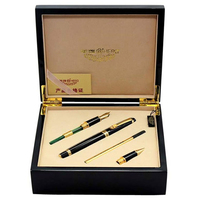 Fountain pen Calligraphy Nib + Broad Nib + Rollerball Tib 3/set in Original box HERO 1111 standard pen Free Shipping