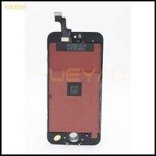 Calidad AAA Para el iphone 5G 5C 5S YUEYAO LCD Pantalla Táctil Digitalizador Asamblea Blanco y Negro Color de Pantalla LCD completa