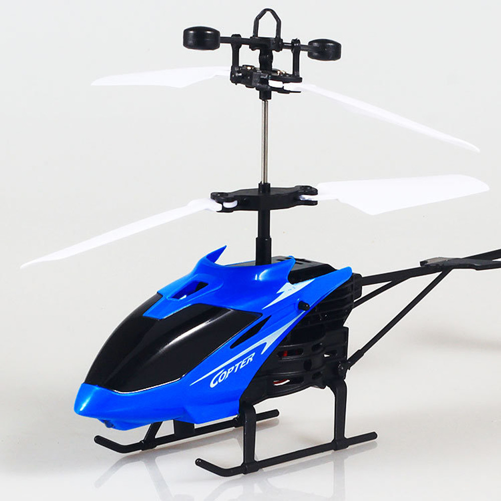 Flying Mini RC Infraed Induction Helicopter Aircraft Flashing Light Toy For Kids USB Charging  induction Helicopter Aircraft-in RC Helicopters from Toys & Hobbies