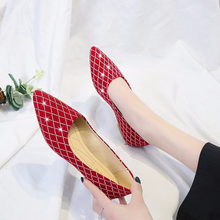 Flat-soled Girls 2019 New Fashion Hundred-set Korean Flat-heeled Single-toed Shoes