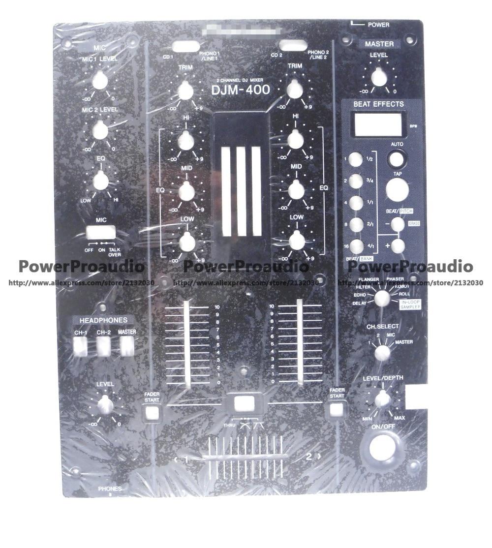 New DJM-400 Front Plate Control Panel DNB1145 , DJM400 Mixer кейс для микшерных пультов thon mixer case pioneer djm 2000