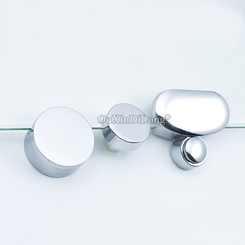 Brand New 20pcs Glass Mirror Clamps Clips Zinc Alloy Glass Fixed Holder Brackets Shelf Support Bathroom Hardware 3 Styles Brackets Aliexpress