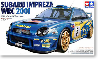 1/24 Subaru Impreza WRC 2001 (24240)1/24 Subaru Impreza WRC 2001 (24240)