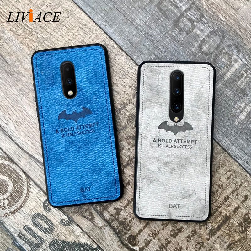 original relief deer cloth shockproof phone case on for oneplus 7 pro 6 5t 5 <font><b>6t</b></font> retro <font><b>leather</b></font> tpu back <font><b>cover</b></font> coque <font><b>one</b></font> <font><b>plus</b></font> 6 5t image