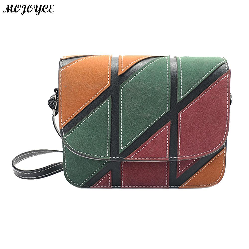 2018 Women Hit Color Mini Messenger Bag Female PU Leather Small Shoulder Crossbody Bag Ladies Red Shopping Bag Flap Bolsas