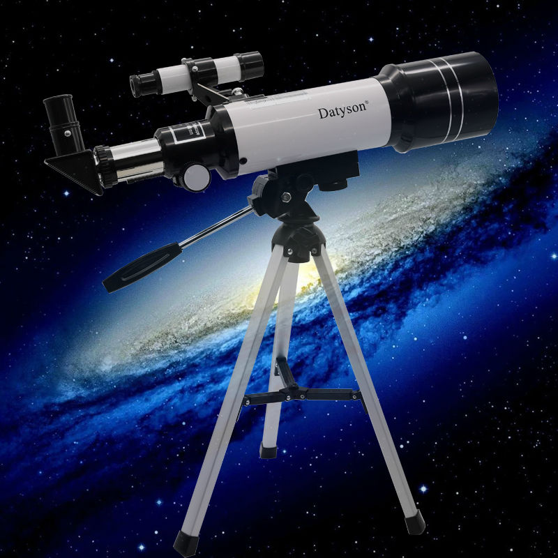 Datyson Outdoor Monocular Space Astronomical Telescope With Portable Tripod Spotting Scope 400/70mm telescopic Telescope bosma 80 900 astronomical telescope monocular equatorial refractive fully coated telescope with portable tripod w2358b