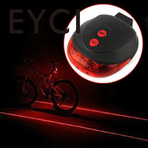 c401fb492f5 Bicycle 5 LED Light 2 Lasers Night Mountain Bike Tail Light Taillight MTB  Safety Warning Bicycle Rear Light Lamp Bycicle Light-in Bicycle Light from  Sports ...