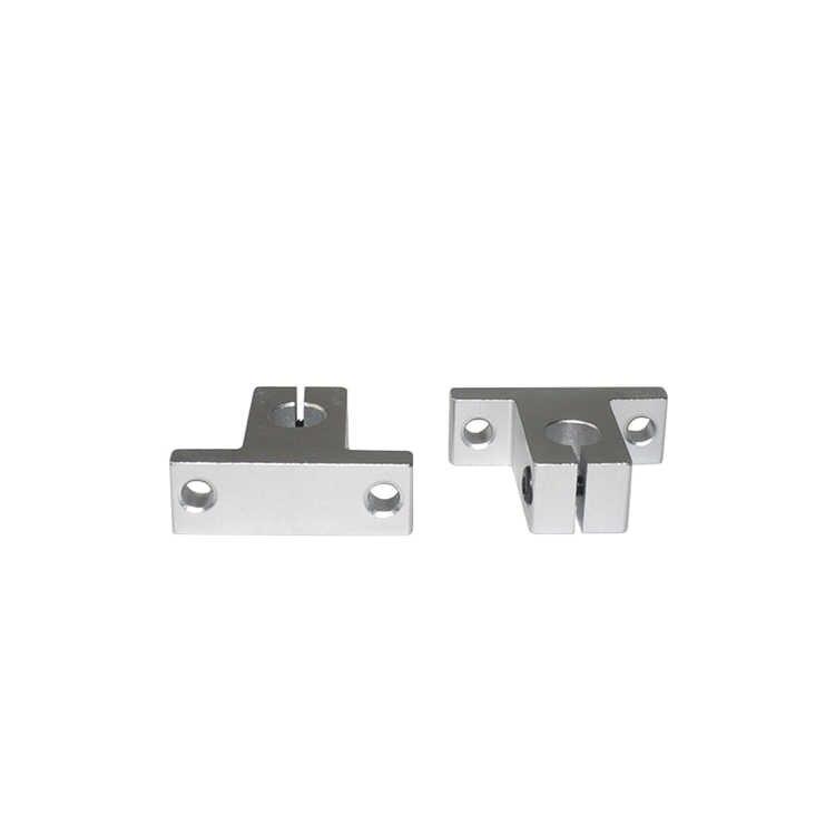 SK10 10mm SH10A rolamento linear trilho de suporte do eixo XYZ Tabela CNC Router