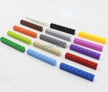Creative Kids DIY Toys Plastic Building Blocks Lego Compatible Bricks Parts 1×8* Enlighten Educational Leaning Toys 3000pcs/lot