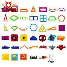 Hot 3D DIY Magnetic Designer Building Blocks Educationa Model Educational Magnetic Creative Bricks Blocks Toys For